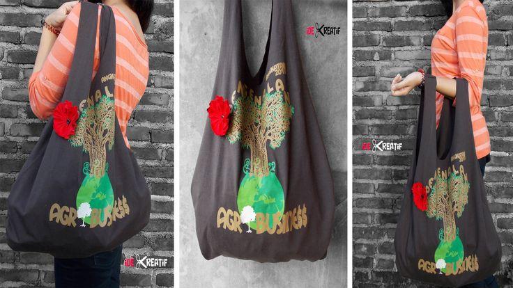 Cara membuat tas dari baju bekas