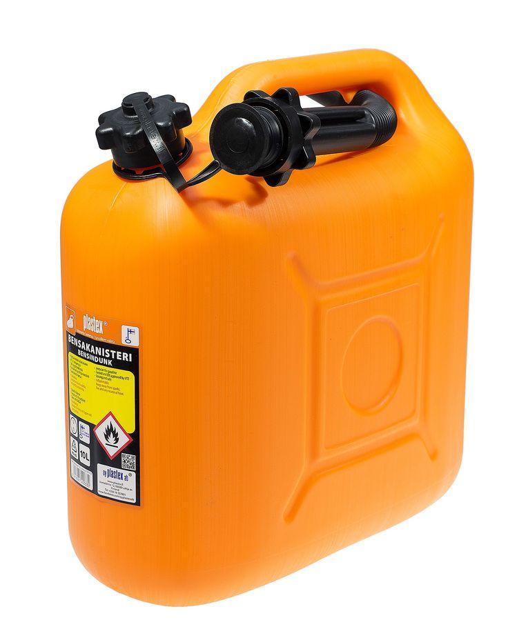 Legendaariset Plastexin tukevat bensakanisterit saatavilla nyt myös oranssina! Kuljeta kotimaisella - Plastex Legendary Plastex supported by the petrol cannister is now available in orange! Pass the domestic - Plastex