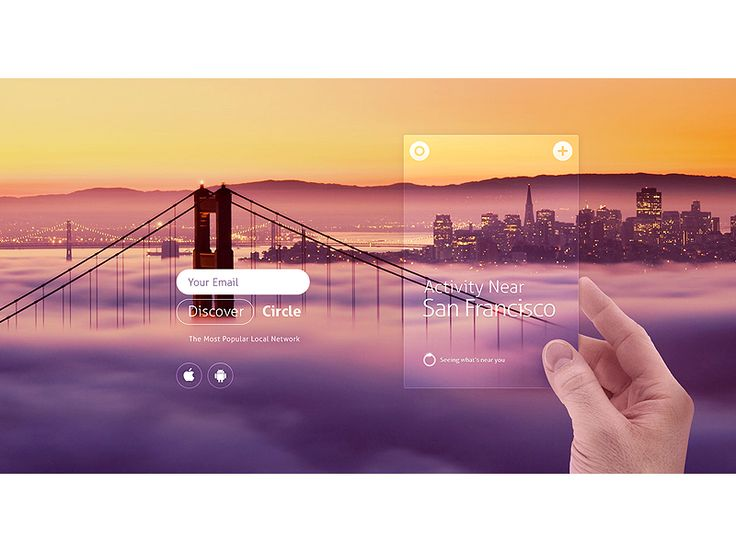 New quick & simple website,  visually matching the app update.  Check also 140 custom panoramic screenshots (no minion was used to help O:) http://dribbble.com/shots/1194880-Circle-Website/atta...