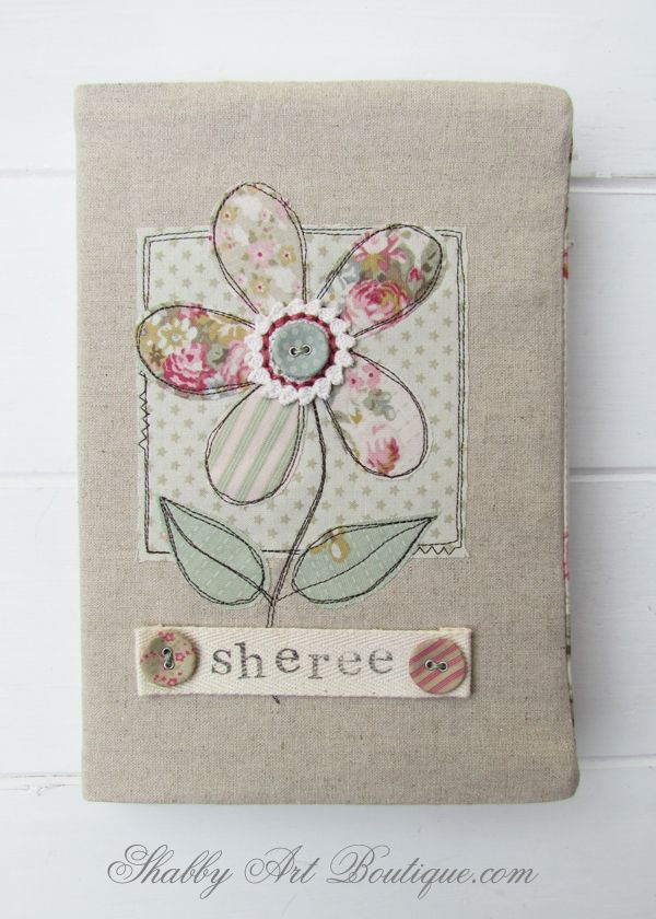 Shabby Art Boutique - fabric covered diary tutorial, ooooooooh great pin, thanks so xox ☆ ★   https://www.pinterest.com/peacefuldoves/