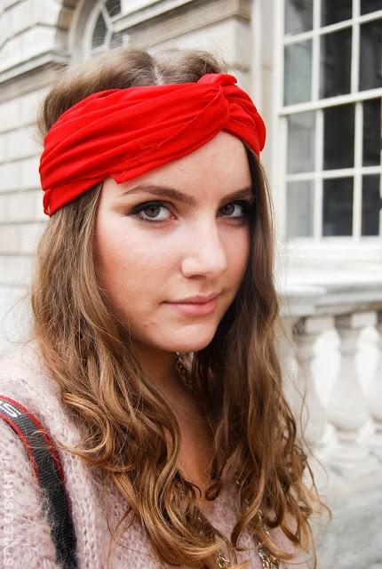 lenço turbante