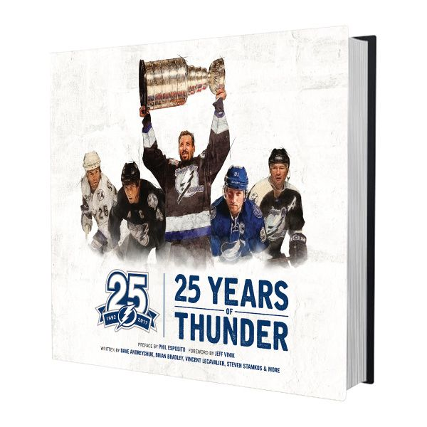 AUTOGRAPHED Limited Edition 25 Years of Thunder Book - Tampa Bay Sports