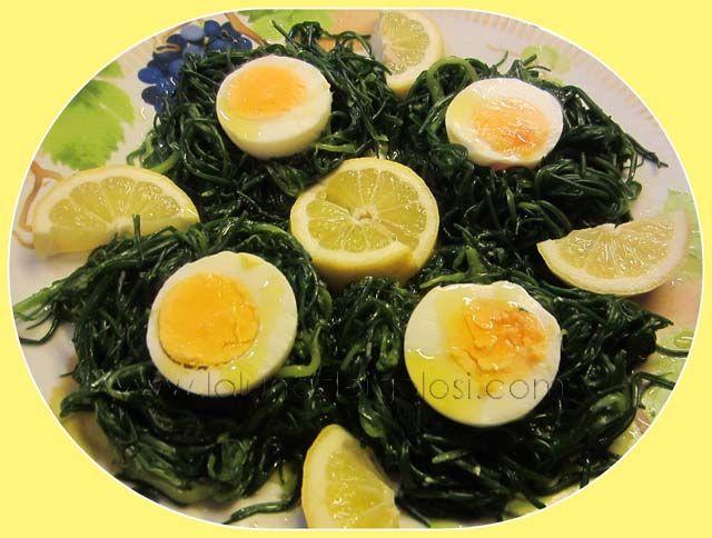 Uova Sode su Nidi di Agretti!