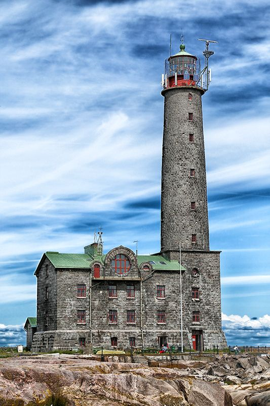 Bengtskär Lighthouse, Hanko, Finland