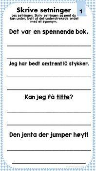 Norske synonymer