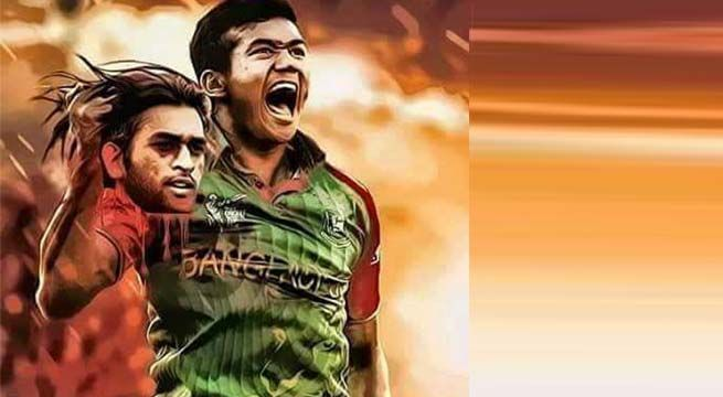 Bangladesh are celebrating after reaching the Asia Cup final but what awaits them is a stern test in the form of the Indian team. If the cricket match was not enticing enough, we have this picture going viral where Bangladesh fast bowler Taskin Ahmed is seen holding MS Dhoni's chopped head. Make no mistake, there …