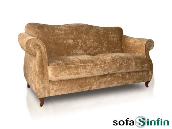 Sofá clásico de 3 y 2 plazas modelo Top-Class fabricado por De Paula en Sofassinfin.es