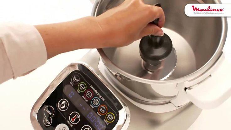 Descubra como usar a lâmina para triturar/amassar na Cuisine Companion! Faça massas de pão, de bolos e levedadas. Também pode ser utilizada para triturar frutos secos e para picar gelo e alimentos rijos.