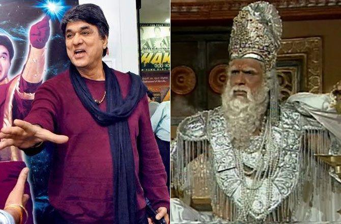 #Mahabharat actor #MukeshKhana then and now #Bhishm # ...