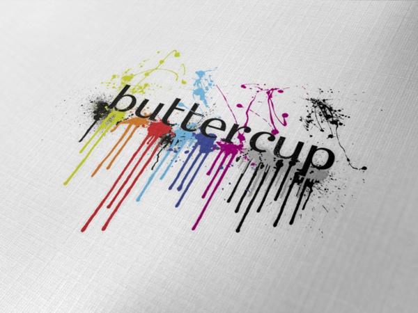Buttercup Cafe Branding by Nabil Zeineddine, via Behance