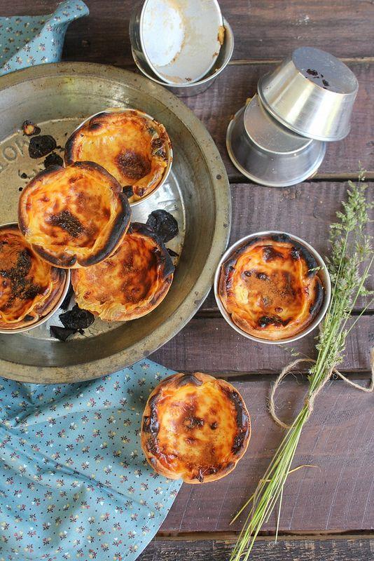 Pastéis de nata - Tortine alla crema portoghesi