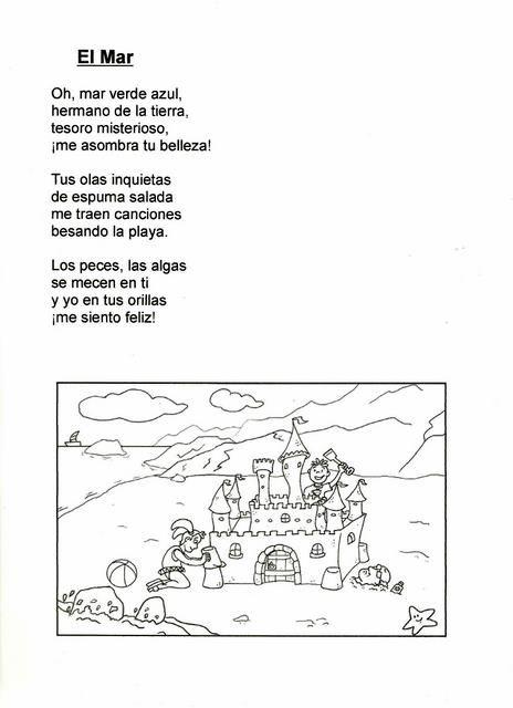 Mis recursos didácticos: Poema para niños - El mar