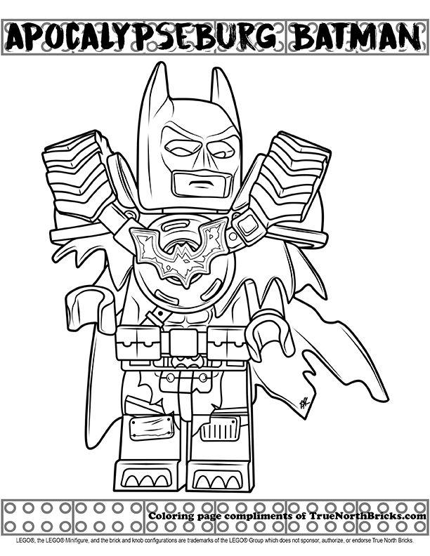 Coloring Apocalypseburg Batman Batman Coloring Pages Avengers