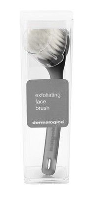 Dermalogica Deluxe Exfoliating Face Brush: This ultra-gentle face brush works with your prescribed Dermalogica  Cleanser or Clean Bar to gently exfoliate dulling surface debris and impurities for effective cleansing. #Dermalogica #SkinCare #Exfoliating #Face #Faical #FacialBrush #Cleansing #BuyOnline #FreeDelivery #Discount