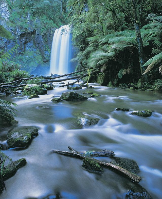Water falls and nature to be enjoyed during holidays in Daylesford Hepburn Springs Victoria. http://www.ozehols.com.au/blog/victoria/daylesford-accommodation-escapes-hepburn-springs-accommodation-in-spa-country/ #spaholidays #scenicvacations
