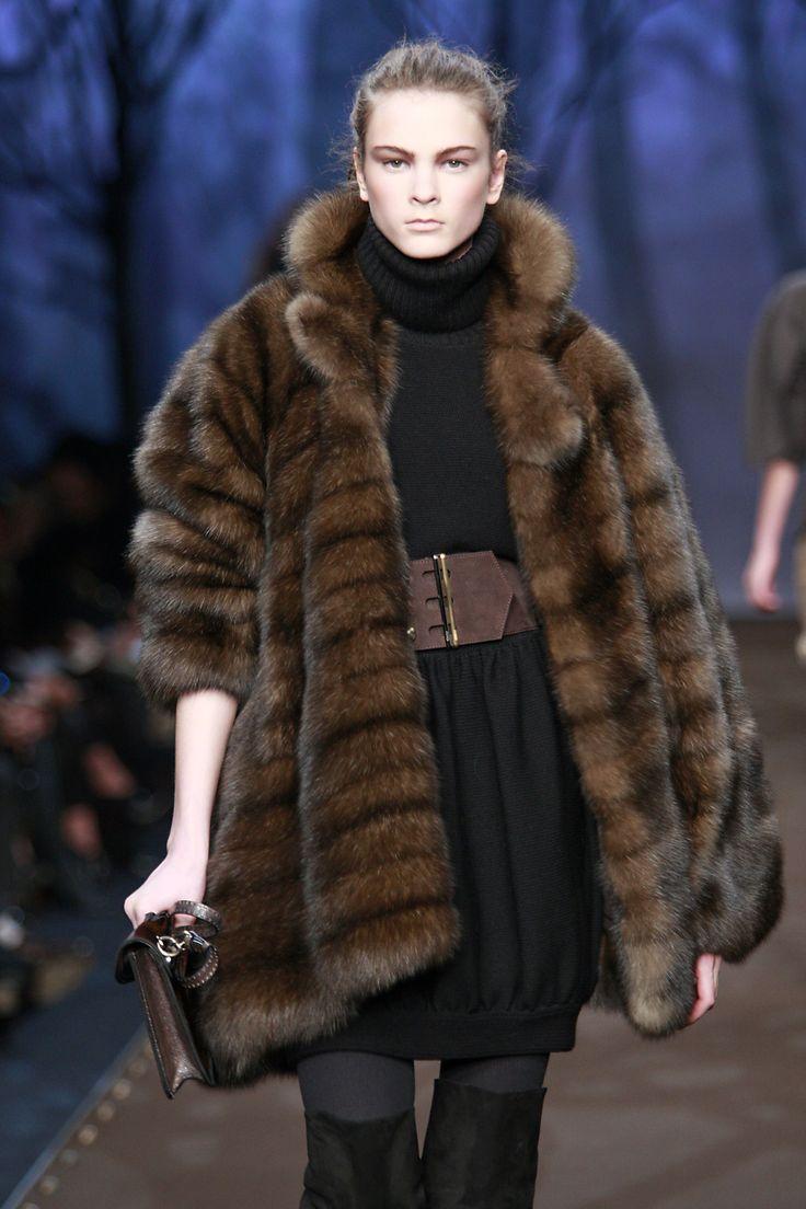 Fur Designer Coats Han Coats
