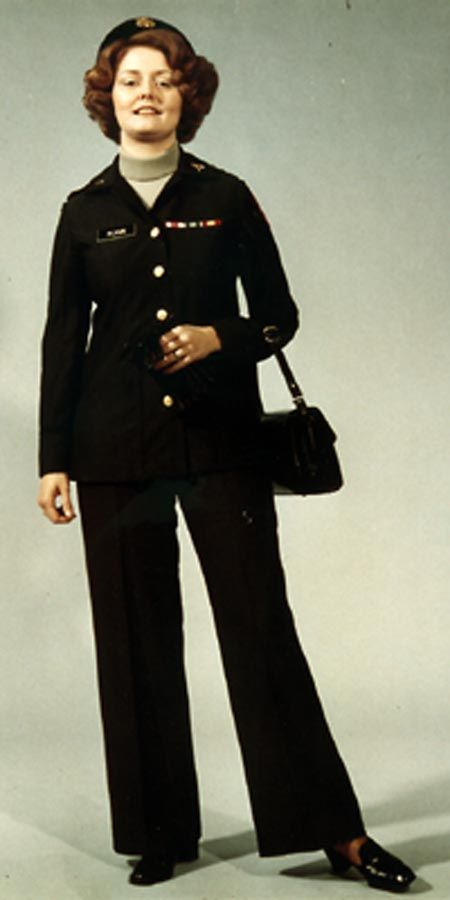 u.s. army women's uniforms 1970s | Class A Service and ...