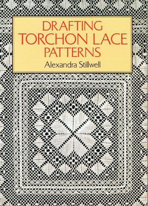 Drafting torchon lace patterns by Alexandra Stillwell