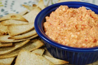 Spicy Feta Dip... I had this for the first time at East Coast Wings tonight and it was fabulous! Can't wait to make this.