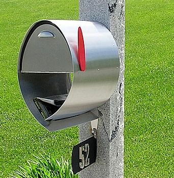 Great mailbox. Why is it so hard to find a mailbox with a paper holder that looks good?