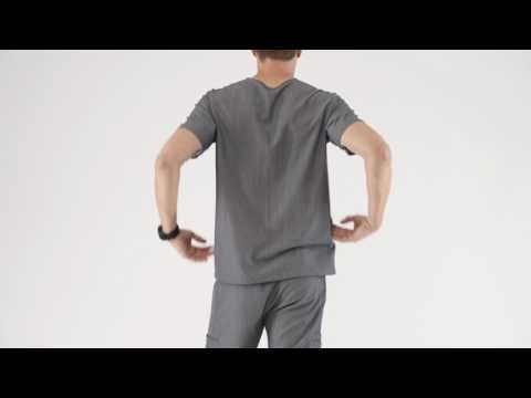 Men's Three-Pocket Scrub Top - Chisec – FIGS