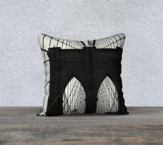 Brooklyn Bridge Pillow preview
