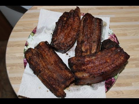 Горячее копчение бекона / Hot-smoked bacon
