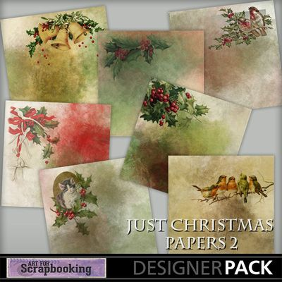 Just Christmas Papers 2