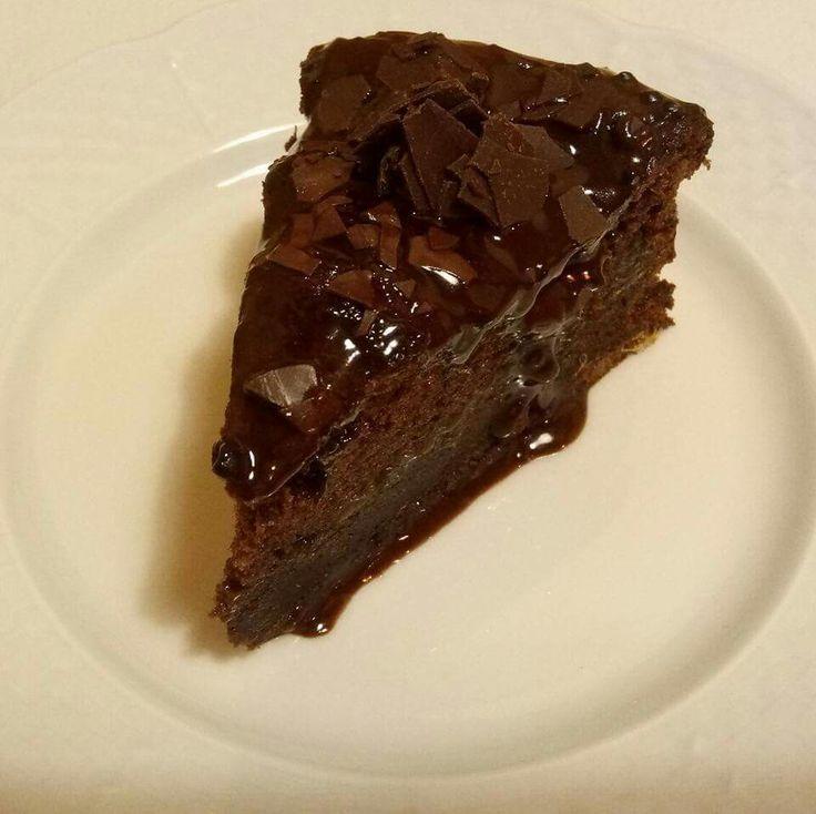 čokoládová tortička z mandlovej múky