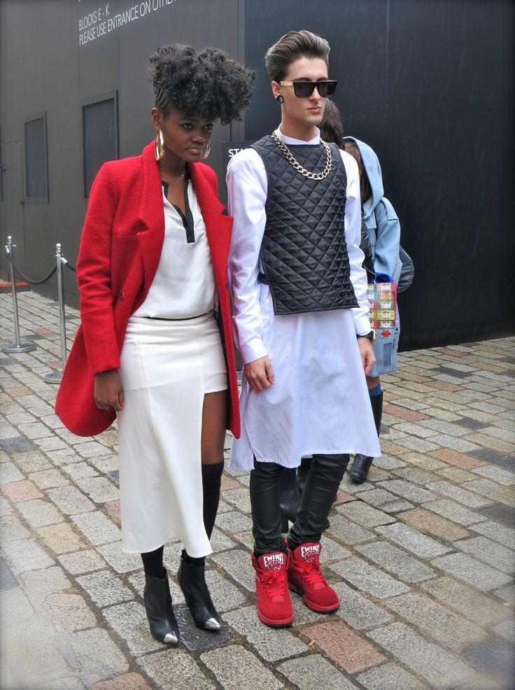 Matching #blackandwhite and #red