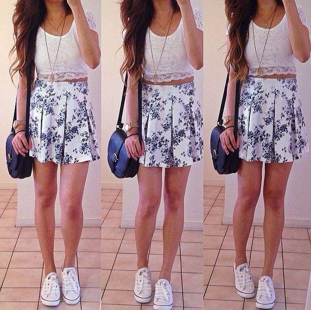 Girly Teen Fashion My Style Pinterest Moda