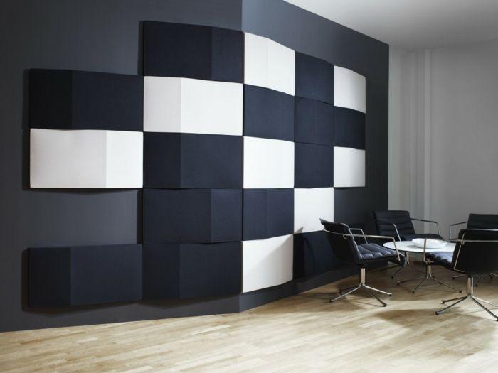 217 besten Wanddeko für ein modernes Zuhause Bilder auf Pinterest - wohnzimmer wandgestaltung schwarz weis