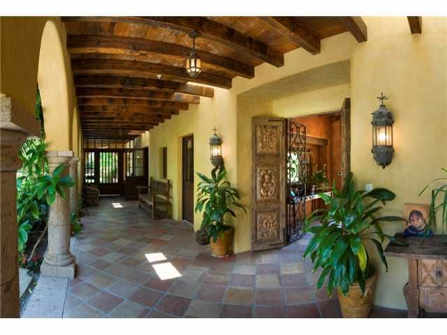1675 best tuscan decor images on pinterest haciendas for Hacienda ranch style homes