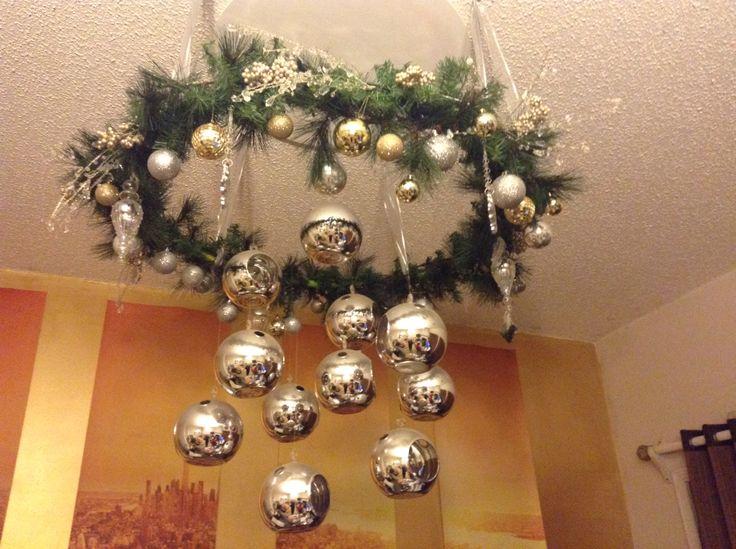 Wreath Chandelier Wreath Pinterest Wreaths And