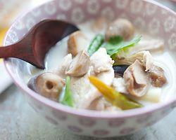 Tom Kha Gai Recipe (Thai Coconut Chicken Soup) - Easy Recipes at RasaMalaysia.com