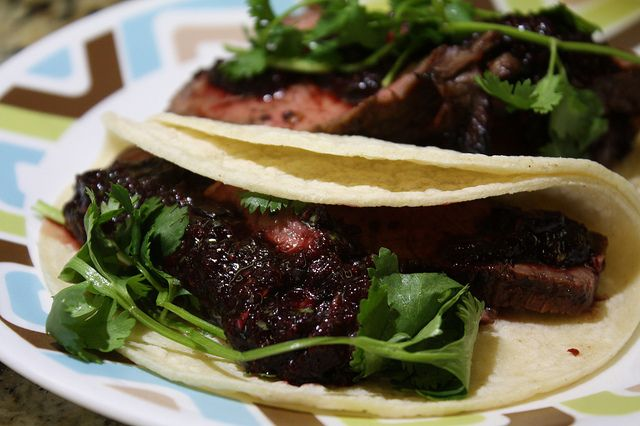 Grilled Steak Tacos... | Food/Drinks | Pinterest