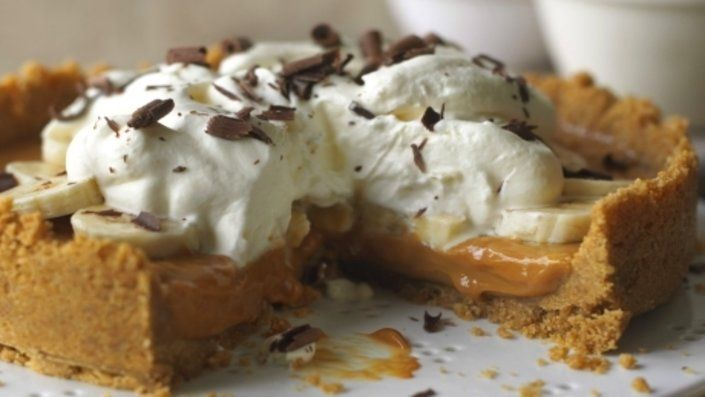 Look at this recipe - Quick Banoffee Pie -  and other tasty dishes on Food Network.