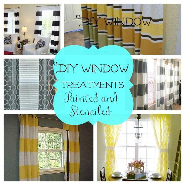 Diy Kitchen Window Curtains