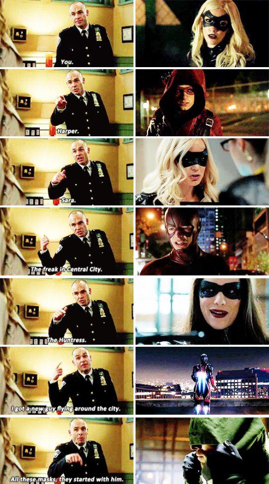 Oliver Queen is the Arrow #arrow