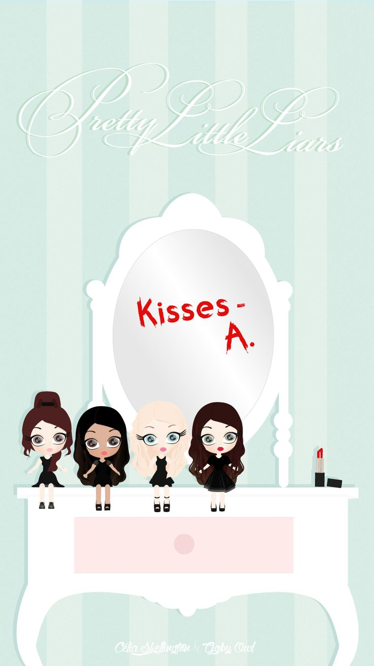 Pretty Little Liars Dolls iPhone Wallpaper @PanPins