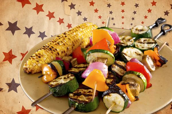 vegetarian recipes | Vegetarian Recipes for the Fourth of July & Labor Day