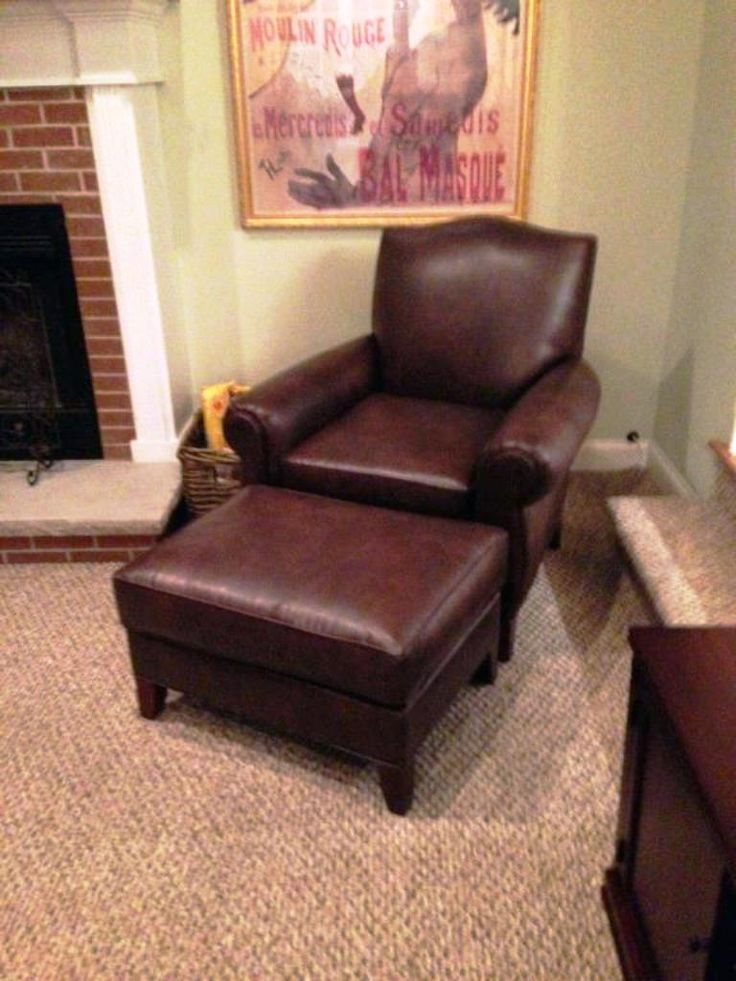 Oversized Living Room Chair With Ottoman