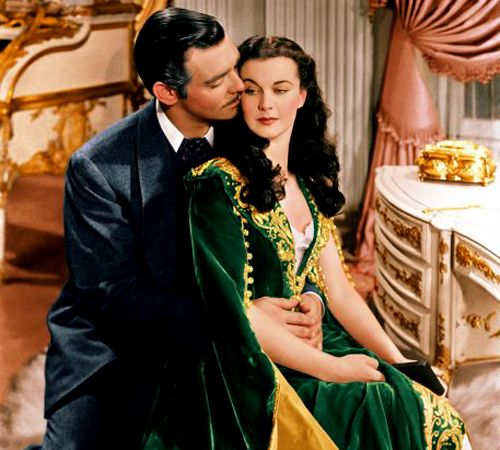 Gone with the WindDates Advice, Happy Relationships, Vivien Leigh, Clark Gables, Dating Advice, Classic Movies, Classic Film, Favorite Movie, Green Dresses