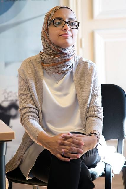 Radwa Rostom, Engineer and Social Entrepreneur in Cairo, Egypt is creating sustainable housing in the slums of Egypt #mosiac #muslimwomen #cairo #egypt
