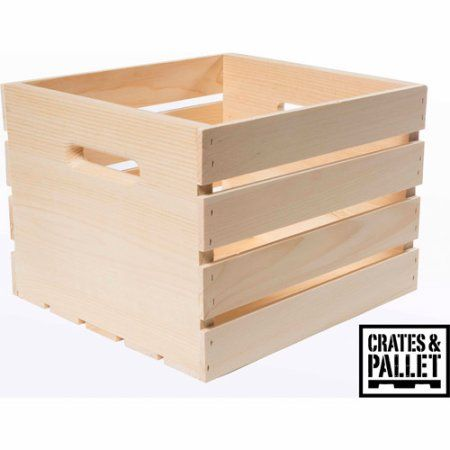 crates and pallet medium wood crate brown shelves walmart and the o 39 jays. Black Bedroom Furniture Sets. Home Design Ideas