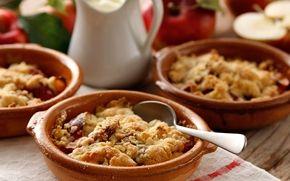 Smulpaj med äpple - Recept - Arla