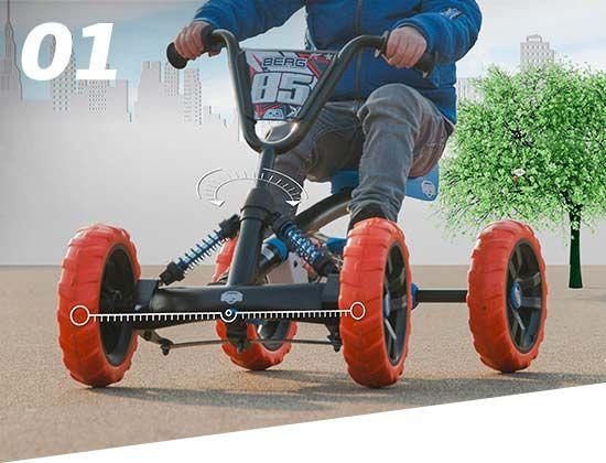 Berg Buzzy Pedal Gokart Go Kart Kinder
