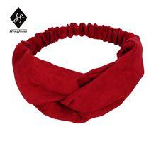 аксессуары для волос Красный повязка для волос Аксессуары для женщин тюрбан повязка на голову для девочек хлопок ленты для волос крест своб...(China (Mainland))