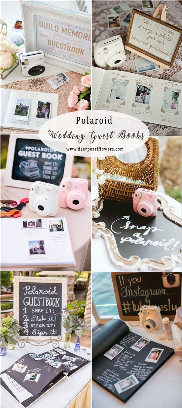 Vintage Polaroid Hochzeit Gästebuch Ideen #Hochzeiten #Hochzeitsguestbooks #Hochzeits ...