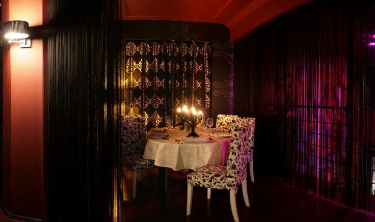 Loża VIP w klubie New Orleans Gentlemen's Club